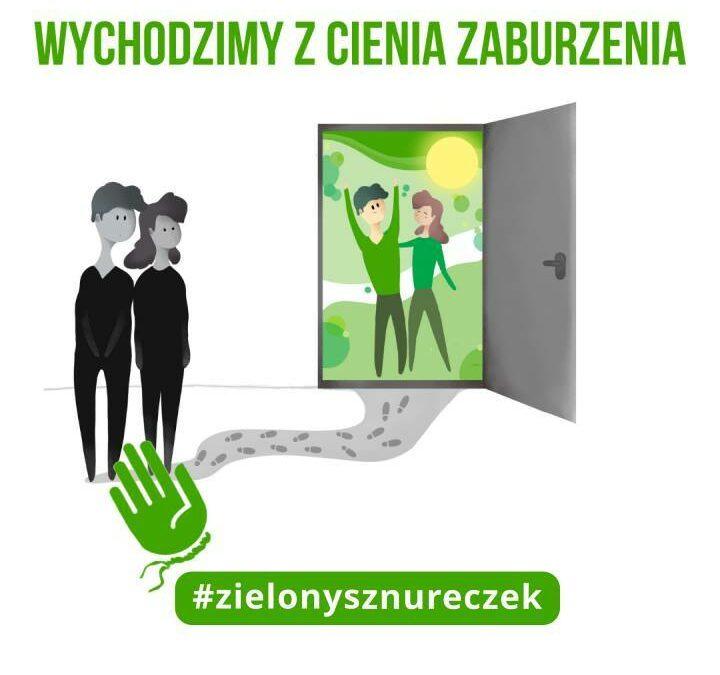 Akcja #zielonysznureczek – Wychodzimy z cienia zaburzenia!